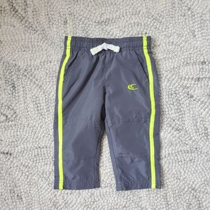 Carter's Grey Track Pants Size 9 Months